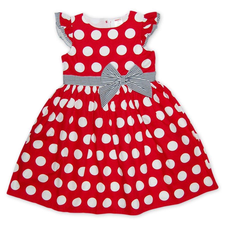f4181dcfd50 Красное платье в белый горох купить онлайн