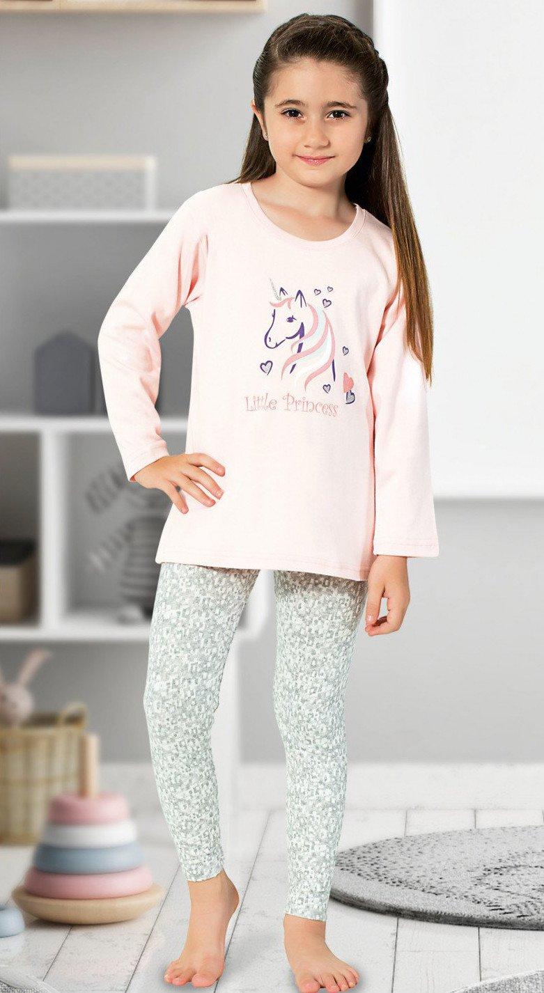 0632f73dc5195 Красивая пижама для девочки с единорогом купить в интернет магазине ...