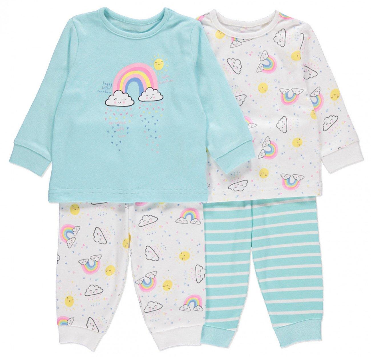 8a969f6e62eac Комплект из 2х пижам для девочки купить в интернет магазине Леопольд