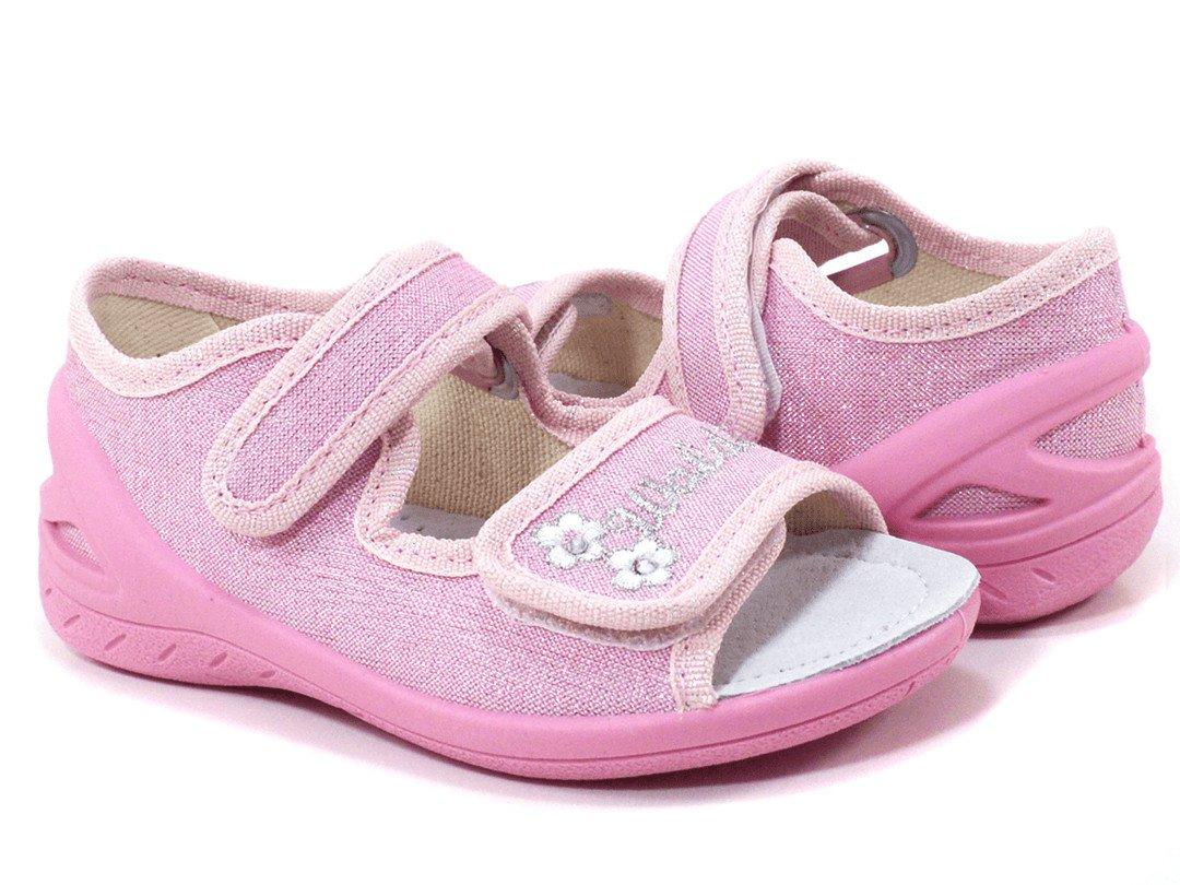 17adb9995 Открытые розовые босоножки для модницы купить в интернет магазине ...